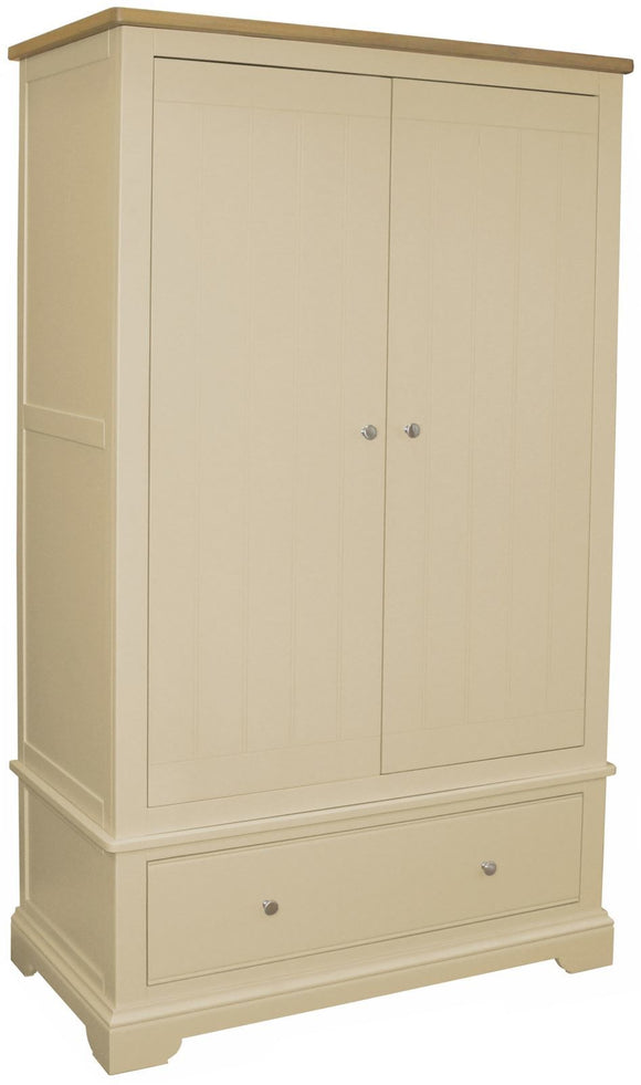 Harmony Oak Gents Double Wardrobe