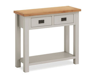 Dorset Grey Painted Console Table