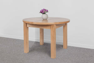 Devonshire Oak Dining Table Round Extender