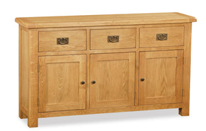 Manor Oak Large Sideboard