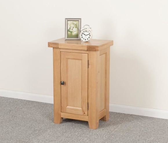 Devonshire Oak Small 1 Door Cabinet
