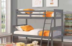 Valencia Bedroom Treble Sleeper - Grey