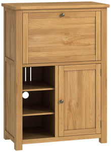Oregon Oak Office Low Bureau - Oak