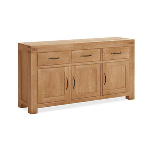 Chunky Oak Sideboard Large