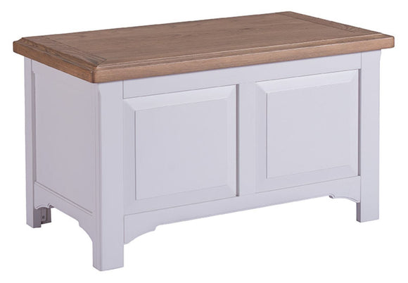 Oxford Grey Painted Blanket Box