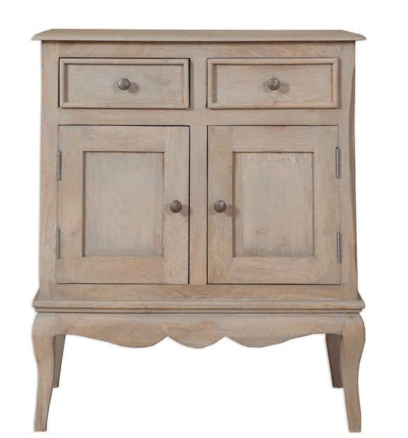 Bordeaux Grey Shabby Chic Mini Sideboard