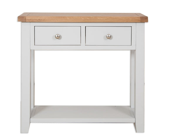 Canberra Painted      Console Table - Grey