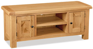 Manor Oak Large TV Unit