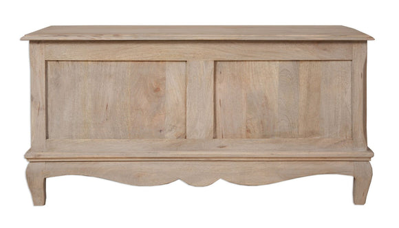 Bordeaux Grey Shabby Chic  Trunk Table