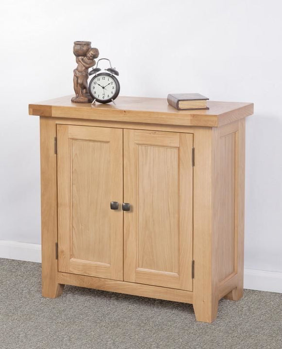 Devonshire Oak Small 2 Door Cabinet