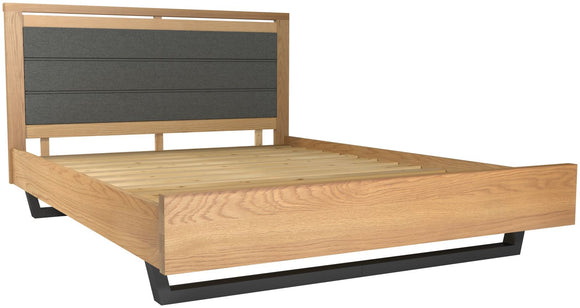 Fusion Upholstered Bed - Double (4'6