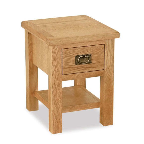 Manor Oak Lite Lamp Table