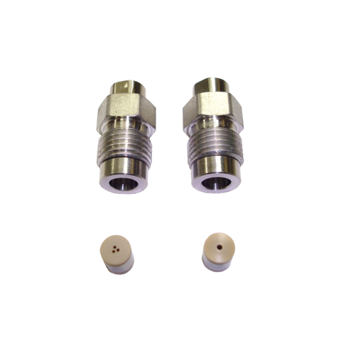Stainless Steel Head Kit With 1/8 Inch Inlet / Outlet (40 mL)