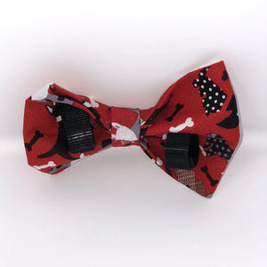 Red Dog Pet Bow Tie