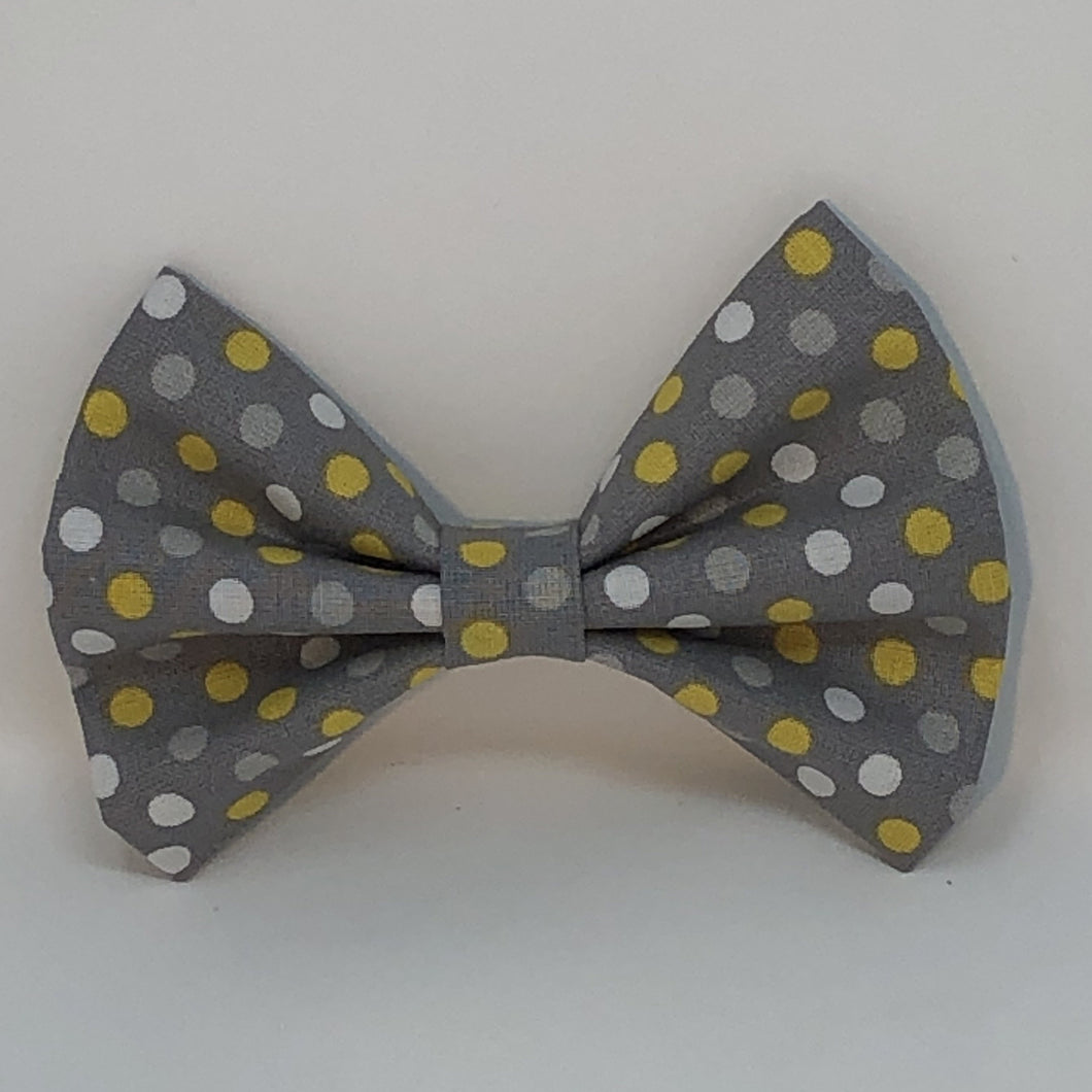 Grey Polka Dot