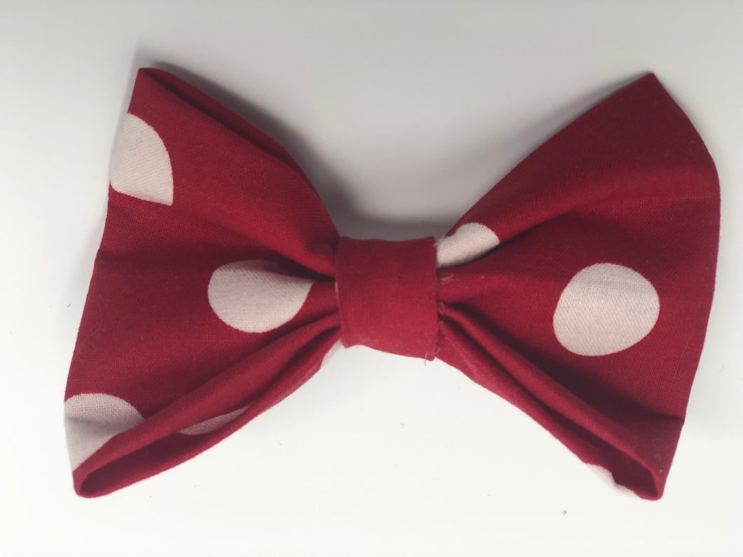 Red Dot Pet Bow Tie