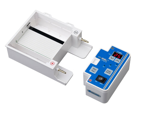 Accuris MyGel Mini Gel Electrophoresis System - Separated