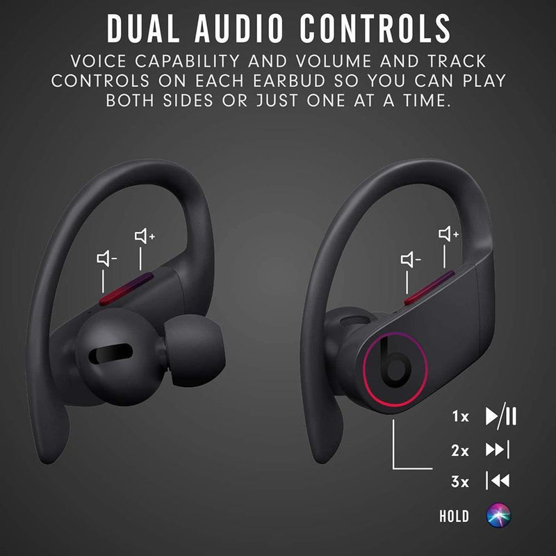 Powerbeats Pro Wireless Earphones - Apple H1 Headphone Chip, Class 1 Bluetooth, 9 Hours Of Listening Time, Sweat Resistant Earbuds