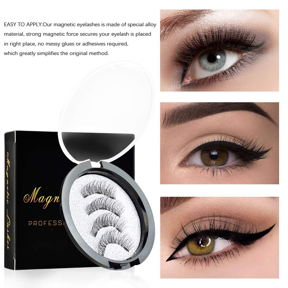 🔥Hot Sale🔥Magnetic False Eyelash Kit (The Second  Is Half Price)