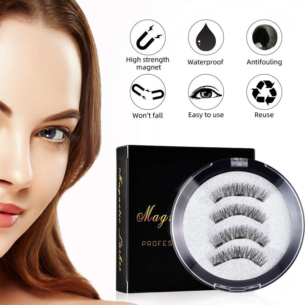 Magnetic False Eyelash Kit (The Second  Is Half Price)