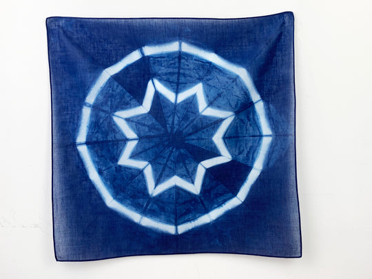 Shibori Idea: Circle & Star