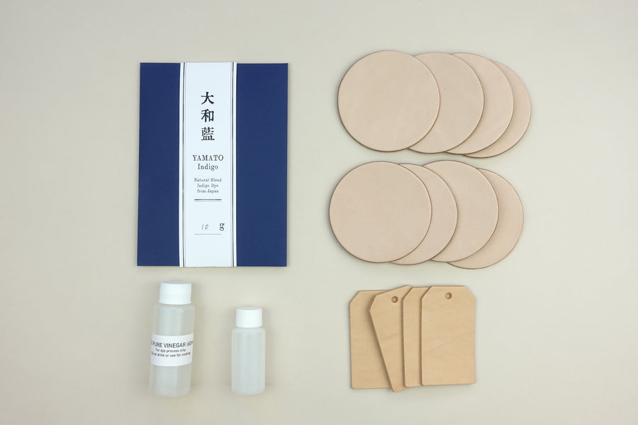 Yamato Indigo Leather Paint Kit