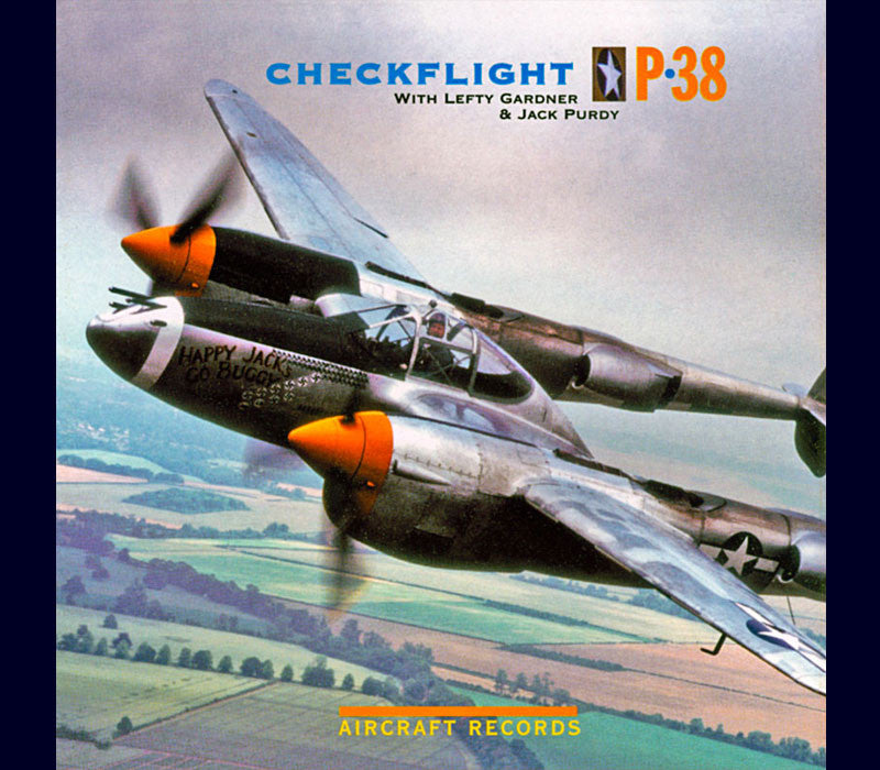 CHECKFLIGHT P-38 AUDIO CD