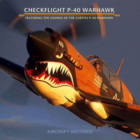 CHECKFLIGHT P-40 WARHAWK AUDIO CD