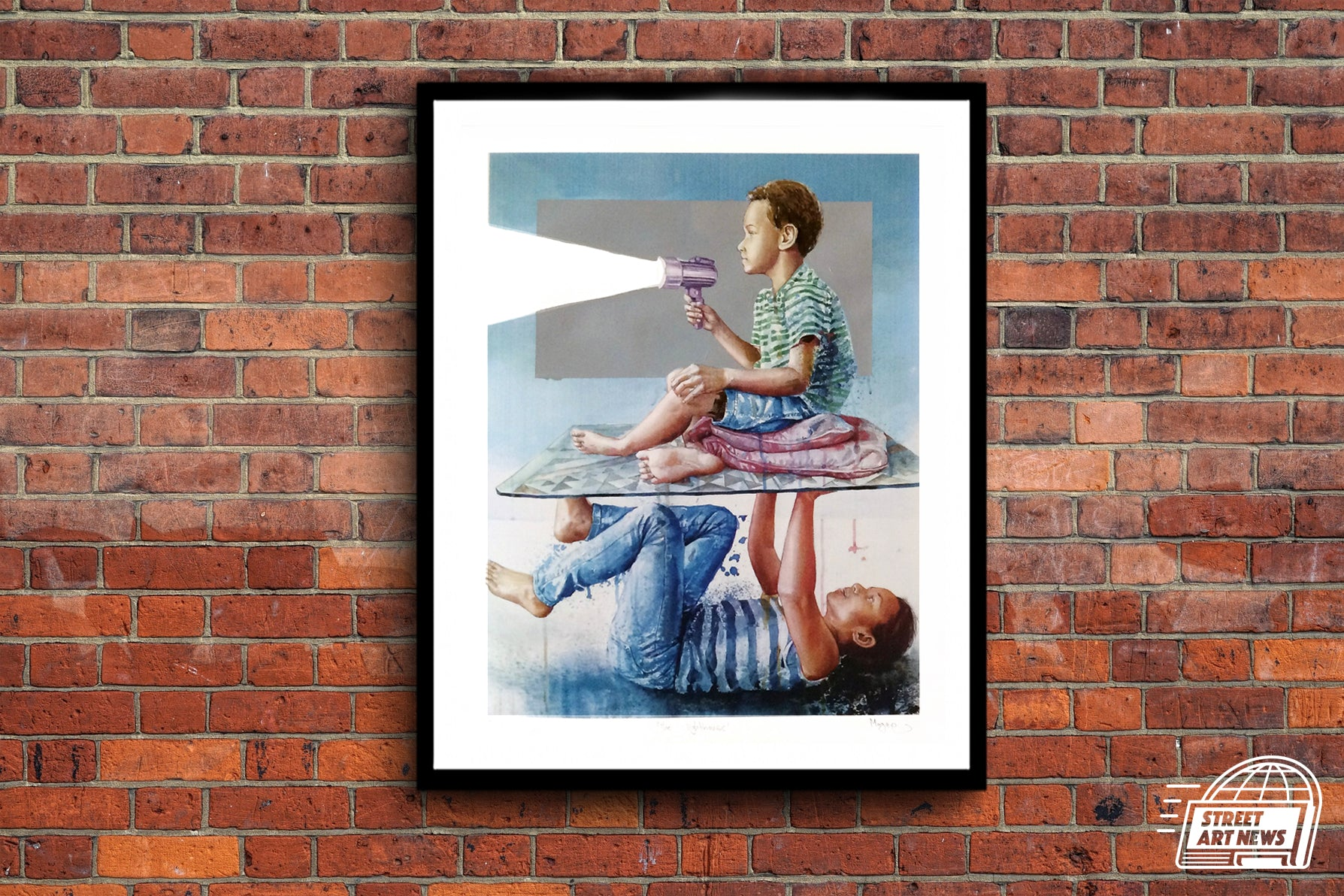 "Fintan Magee ""The Lighthouse"""