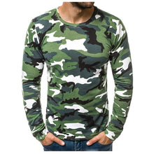 Load image into Gallery viewer, Camouflage Printed Long Sleeve T Shirt - Lifestyle Products & Family Shop