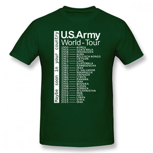 US Army World Tour T Shirt - Lifestyle Products & Family Shop