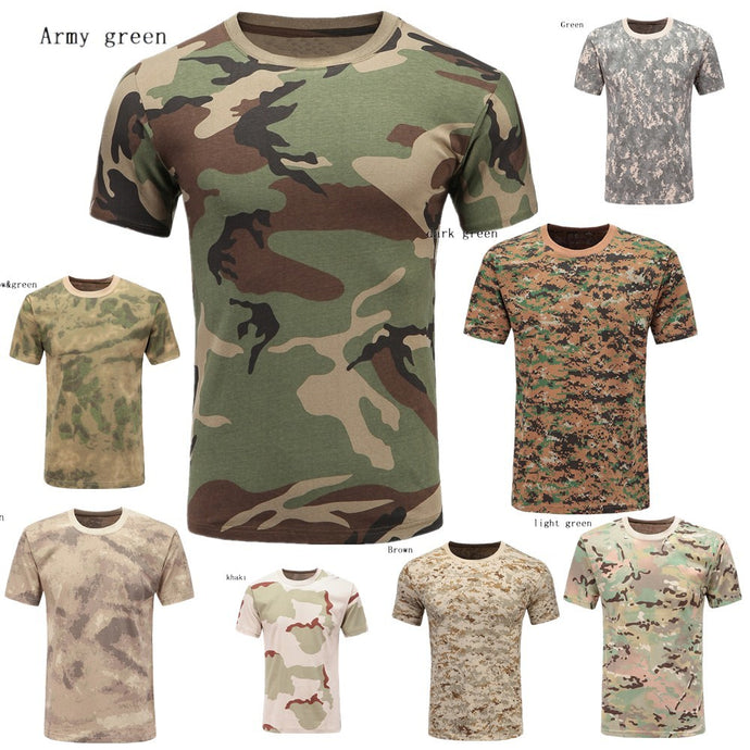 Camouflage Hunting Outdoor Casual T-Shirt - Lifestyle Products & Family Shop
