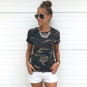 Tumblr Camouflage Prints Tops - Lifestyle Products & Family Shop