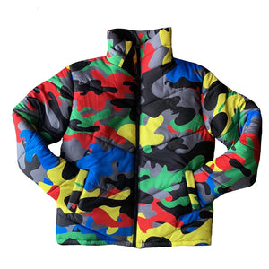 Unisex Camo Print Winter Jacket - Lifestyle Products & Family Shop