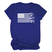 Load image into Gallery viewer, American Flag Shirt Women 2020 Fashion - Lifestyle Products & Family Shop