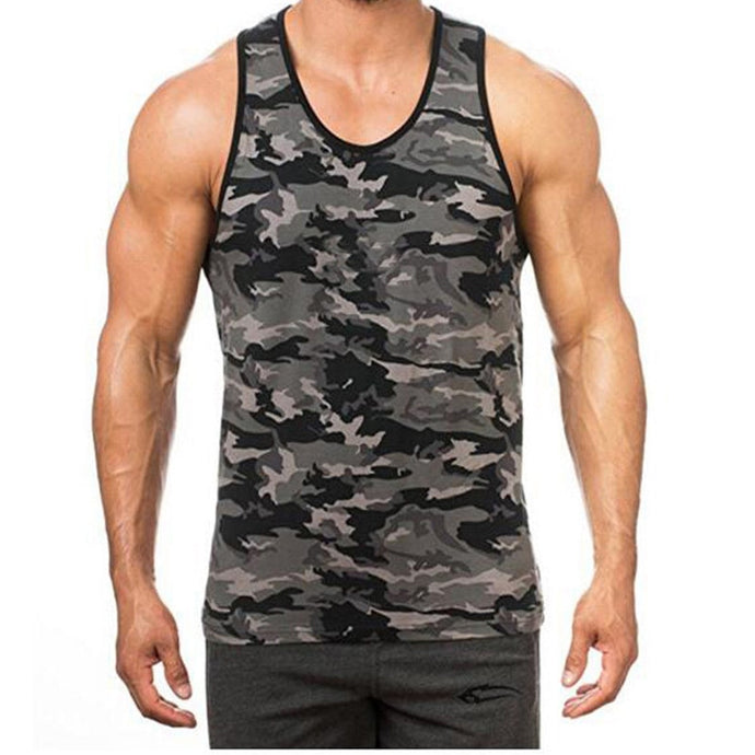 Military Sleeveless Men's Camouflage Vest - Lifestyle Products & Family Shop