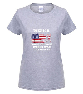 MERICA Back To Back World War Champions - Lifestyle Products & Family Shop