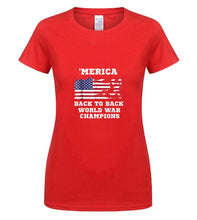 Load image into Gallery viewer, MERICA Back To Back World War Champions - Lifestyle Products & Family Shop