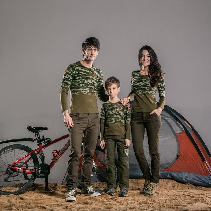 Casual Camouflage T-shirts - Lifestyle Products & Family Shop