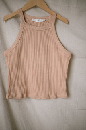 Ginger Ribbed Tank