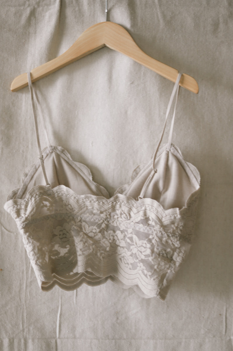 Taupe Bralette