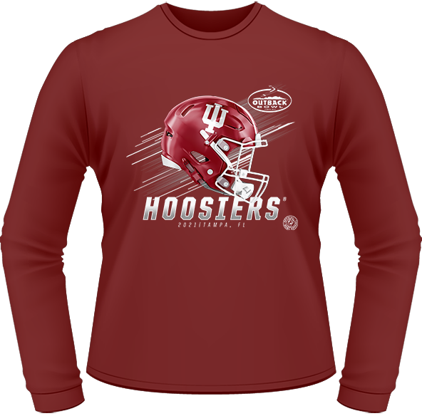 2021 INDIANA HOOSIERS LONG SLEEVE