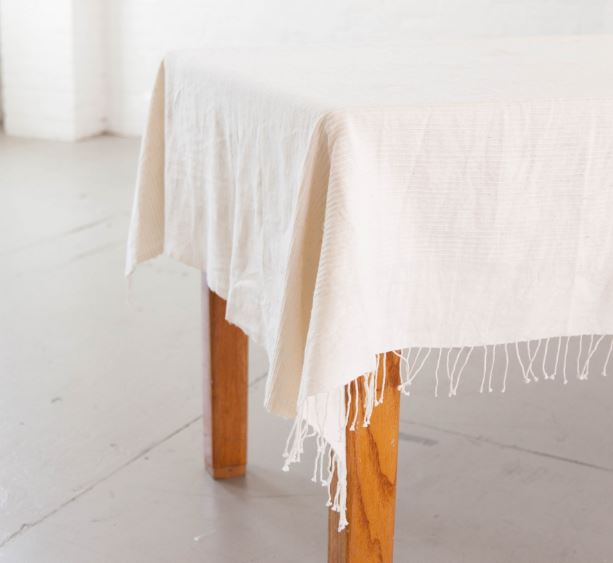 "Riviera Tablecloth 96""x 54"""
