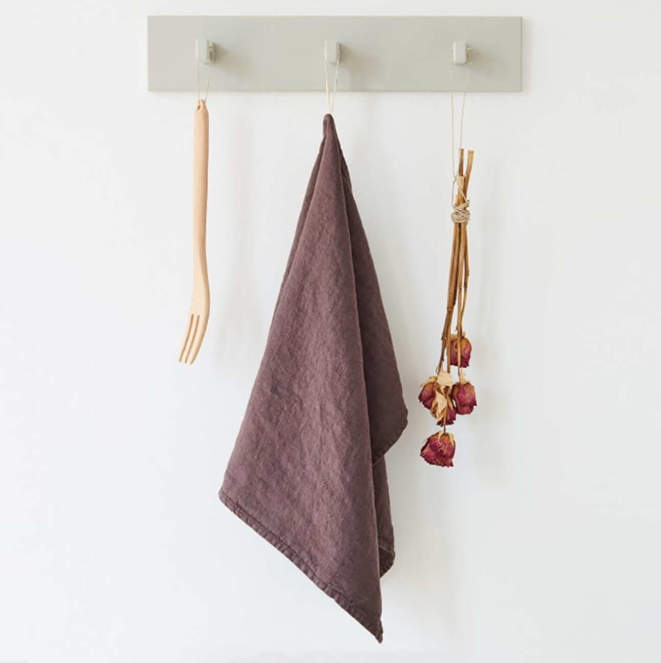 Linen Kitchen Towel Solid
