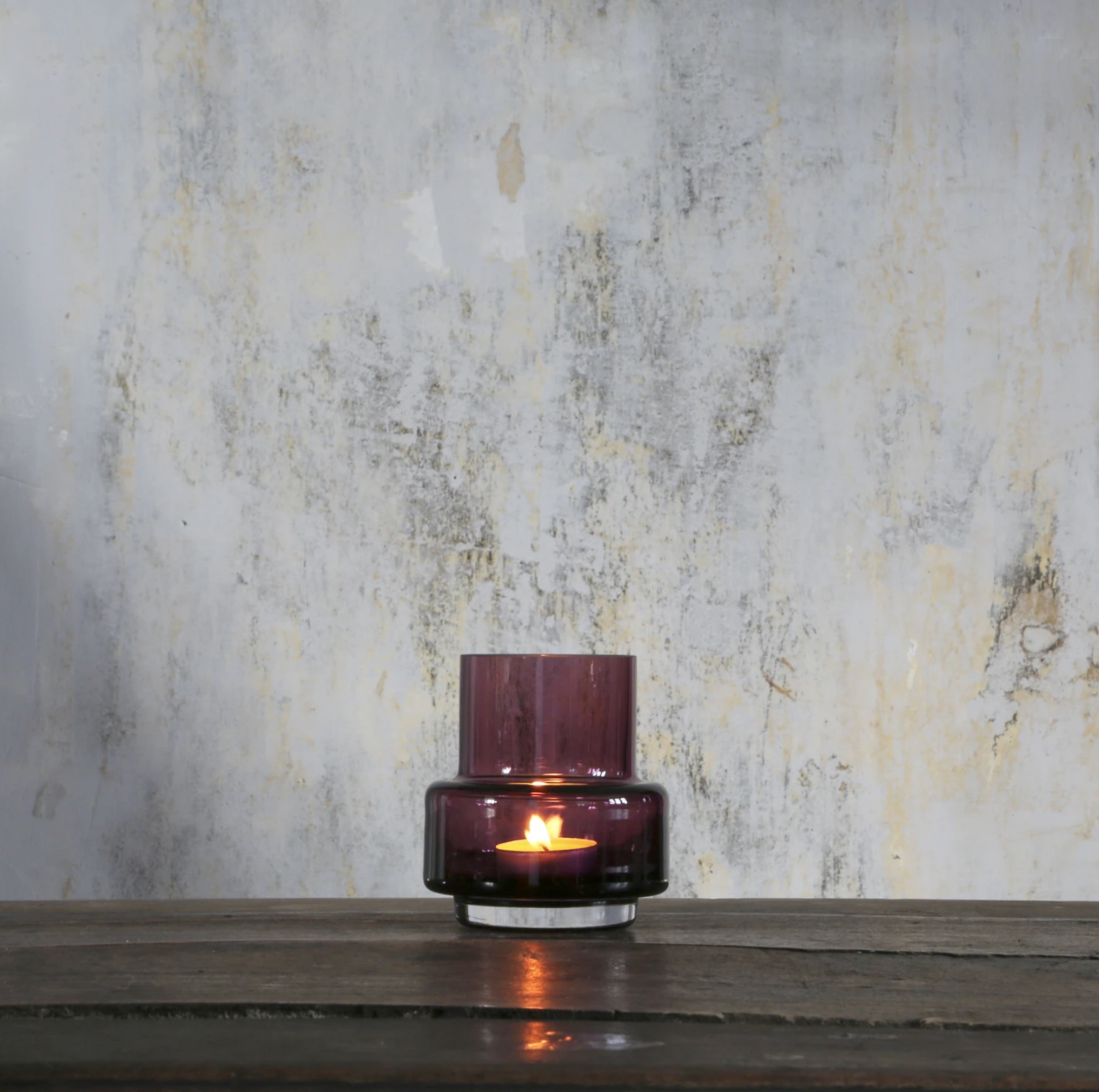 Hurricane Tealight no. 25 Heather
