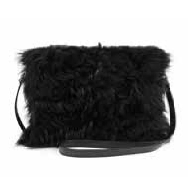 Shearling Pouch Purse