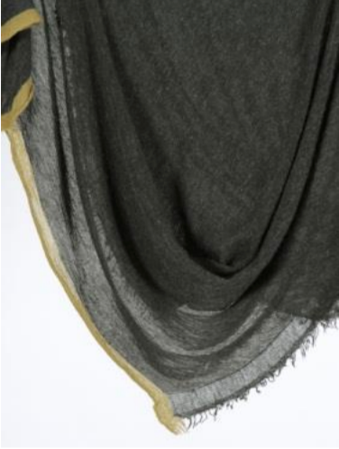 Grisal Salem Cascade Color Tipped Cashmere Scarf