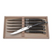 Jean Dubost Set of 6 Steak Knives