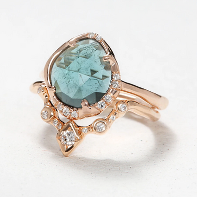 Sirciam Aphenos Ring Blue Tourmaline