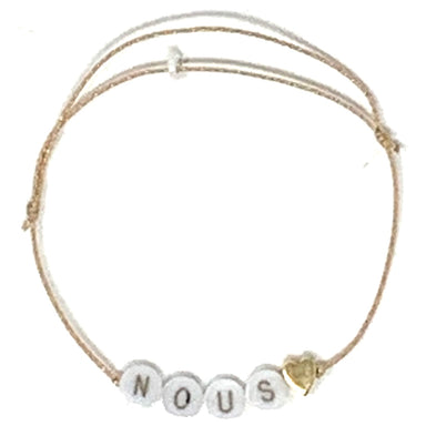 Bbuble Nous bracelet gold heart